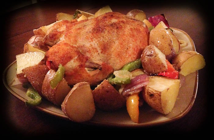 Easy Whole Chicken in the Crock Pot