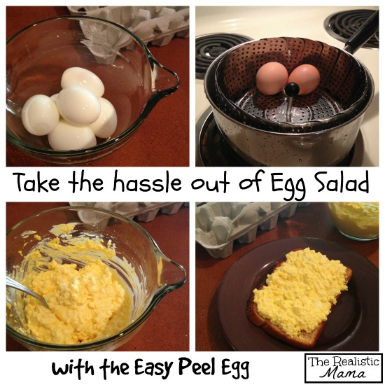 Hassle free Egg Salad with easy Peel Eggs