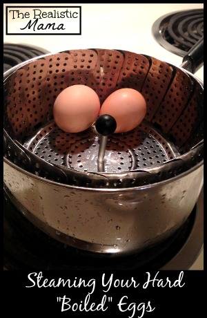 Steaming Your Hard Boiled Eggs (Easy to Peel)