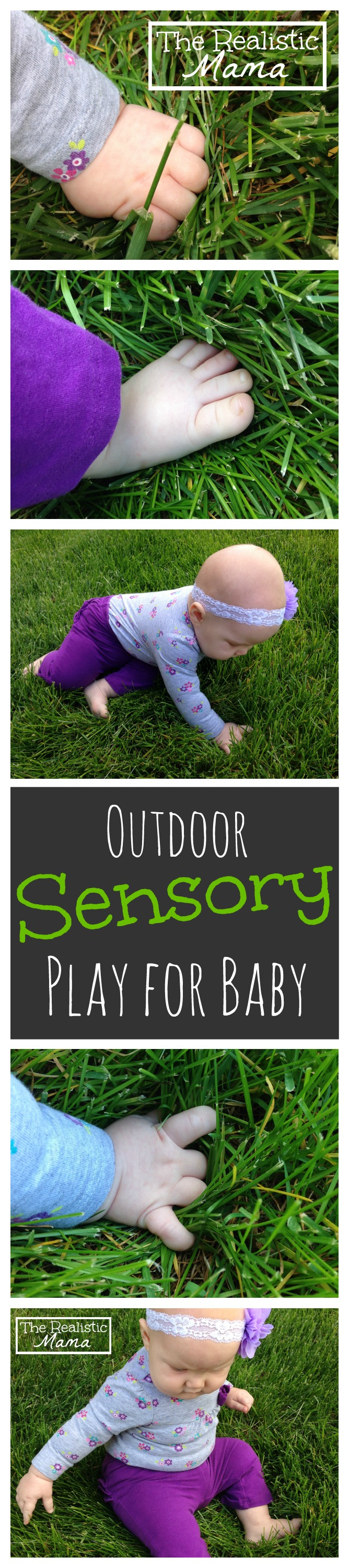 Easy Outdoor Sensory Play for Baby