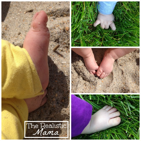 Outdoor Baby Sensory Play