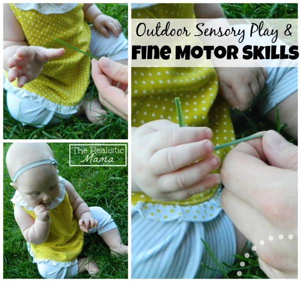 Outdoor Sensory Play & Fine Motor Skill -  Perfect for Baby