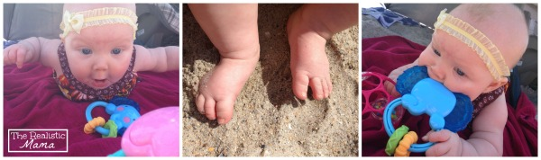 Outdoor Sensory Play in the Sand  The Realistic Mama