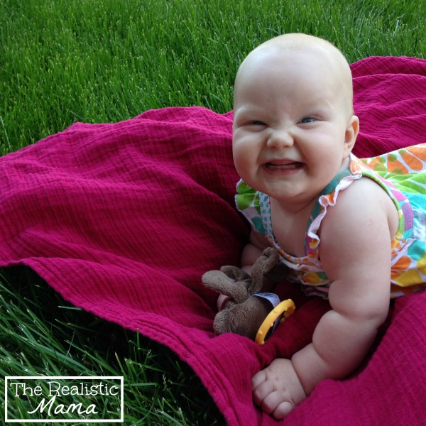 Sensory Baby Play in the Grass  The Realistic Mama