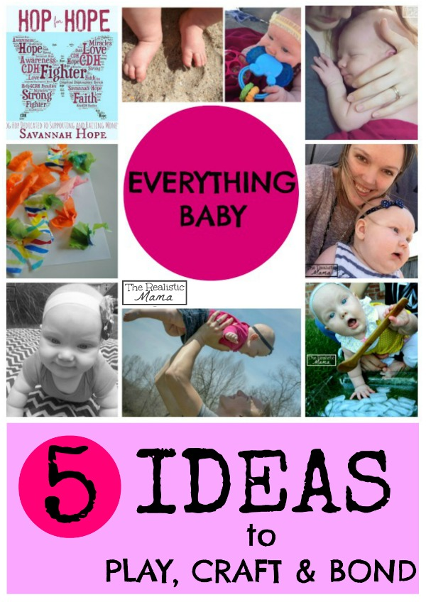 5 Awesome Ideas to Play, Craft and Bond with Baby