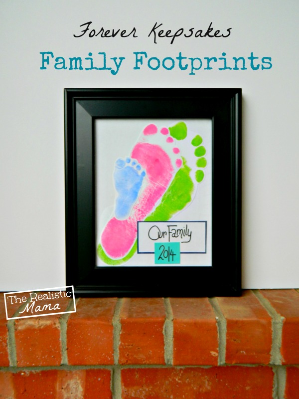 Family Footprint Frame - so precious