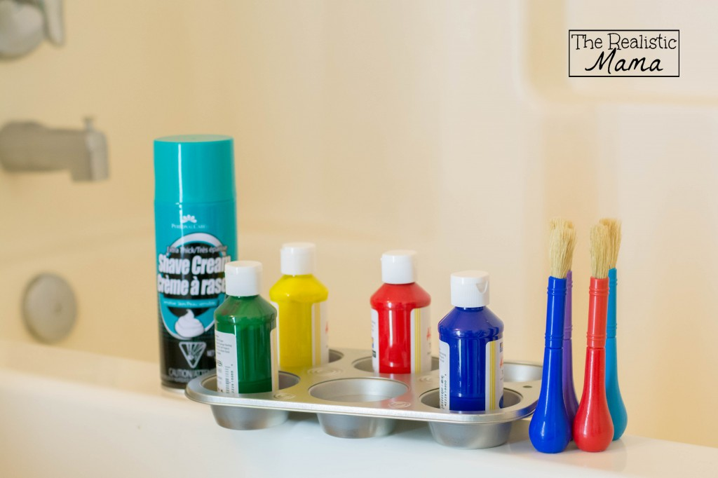 Paint and Shaving Cream