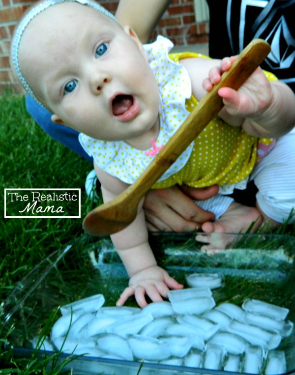 Summer Sensory Play for Baby
