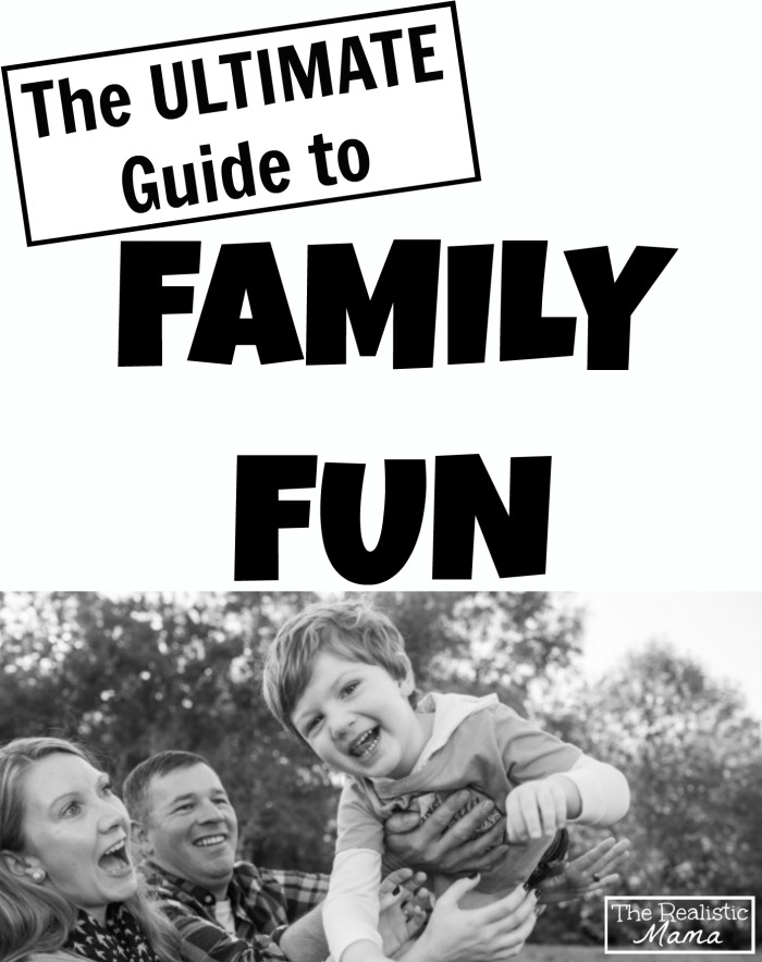 The Ultimate Guide to Family Fun 3