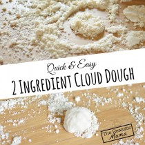 2 Ingredient Cloud Dough