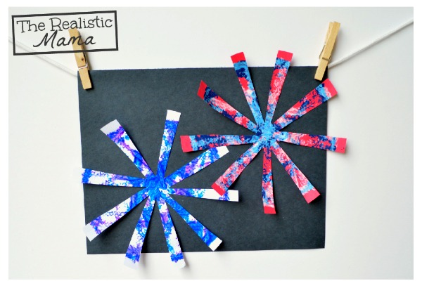 Fireworks Craft - fun!
