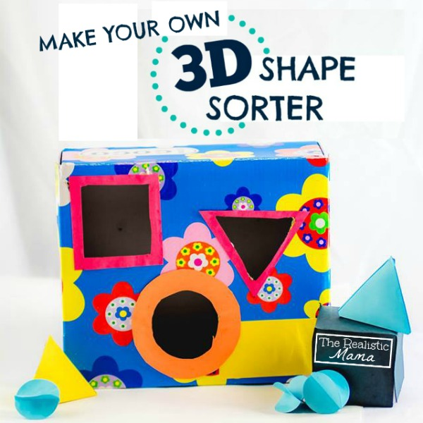 Homemade 3D Shape Sorter