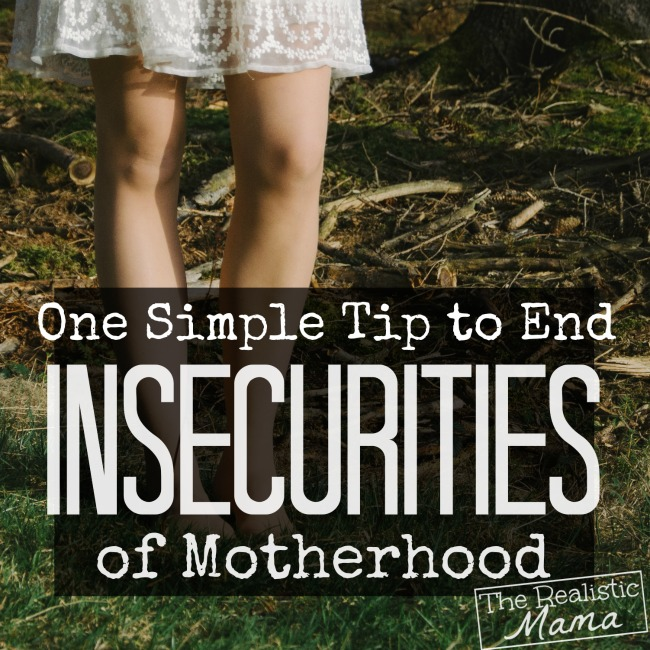 How to be Confident as a Mom - a tip that works!