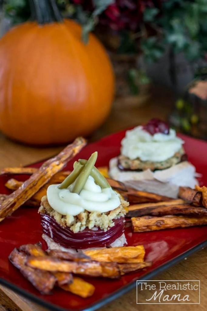Thanksgiving Recipe with Sweet Potato Fries