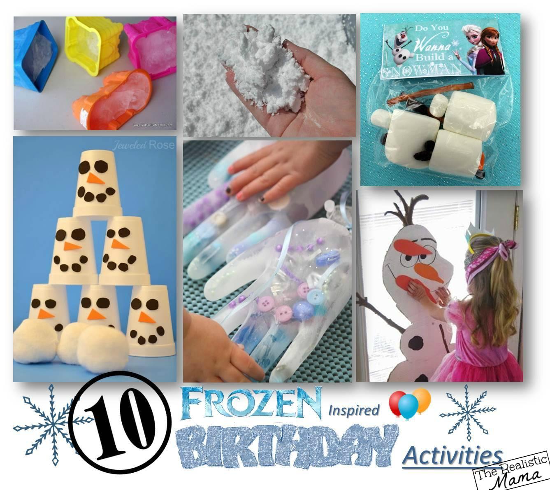 Decorating Ideas > 10 Frozen Birthday Party Activities  The Realistic Mama ~ 205852_Birthday Party Ideas Activities