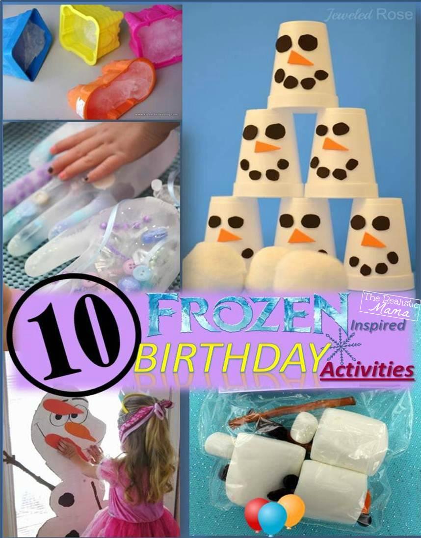 Frozen Birthday Party Games