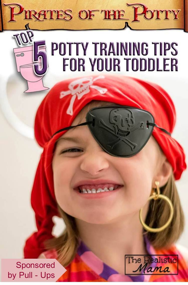 5 Potty Training Tips | Pirates of the Potty Theme