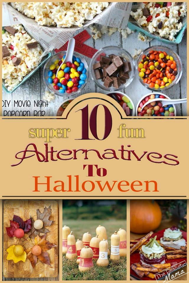 10 SUPER FUN Alternatives for Halloween Night - I think we'll be trying #4 this year!