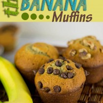 The Best Banana Bread Muffins, this is our favorite recipe!