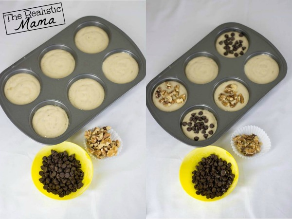 Banana Bread Muffin Toppings