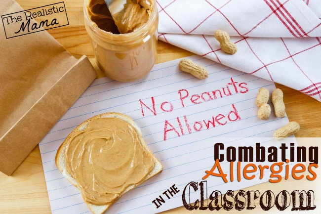 Dealing with a Food Allergy in the Classroom