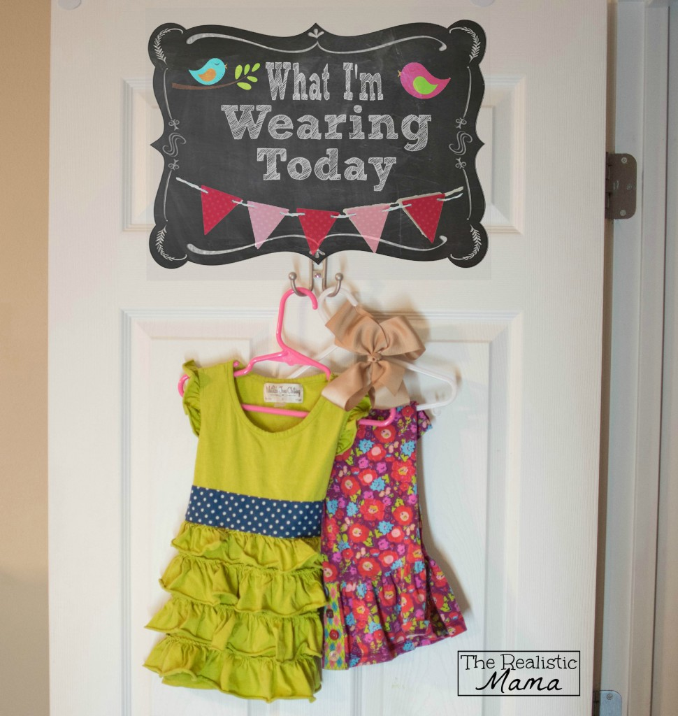 Teaching Kids to Dress Sign