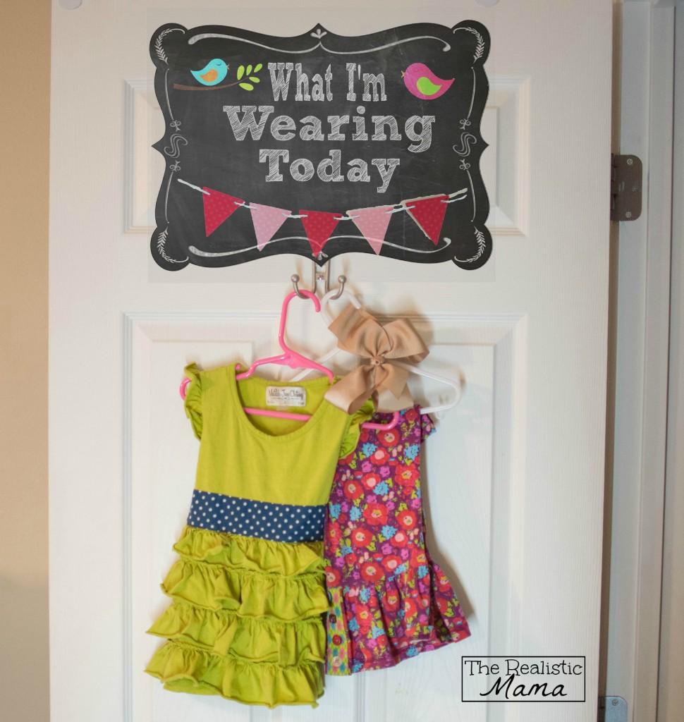 Teaching Kids to Dress Sign