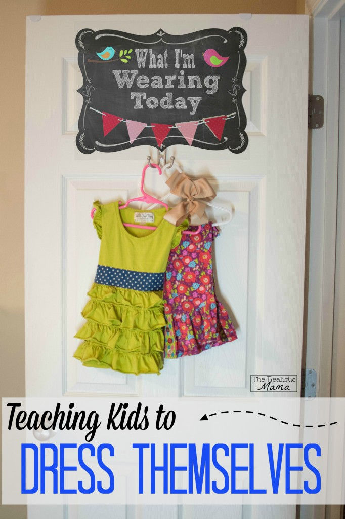 Teaching kids to dress themselves in 5 easy steps!