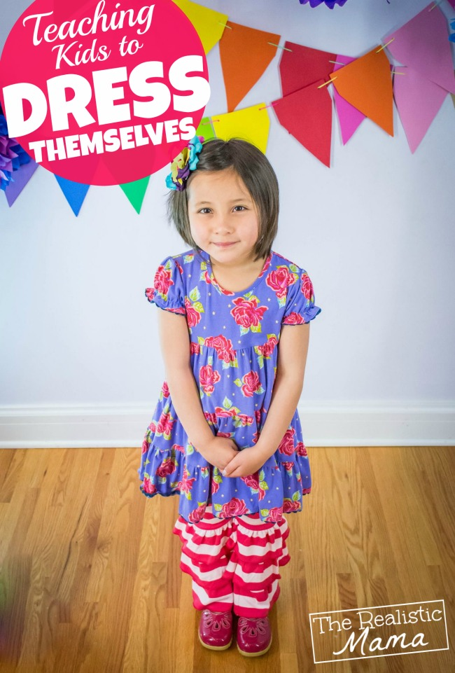 Teaching Kids to Dress Themselves - 10 Rules that work!
