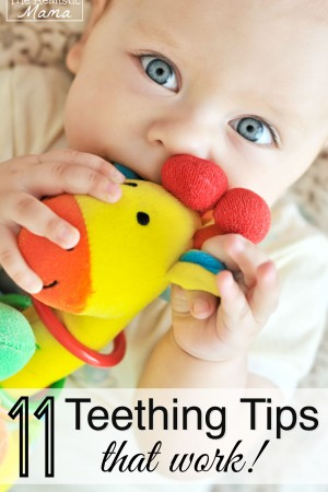Teething tips and tricks that actually worked for us.