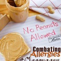 My Child's Classmate has a Food Allergy - Great Chart with Snack Alternatives