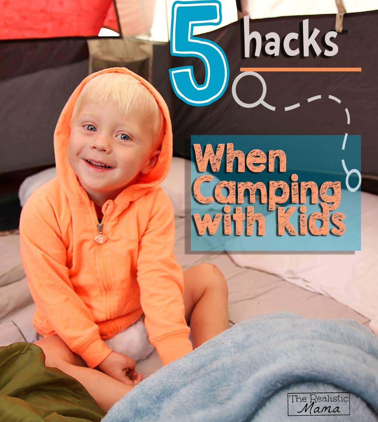 5 Great Tips when Camping with Kids!