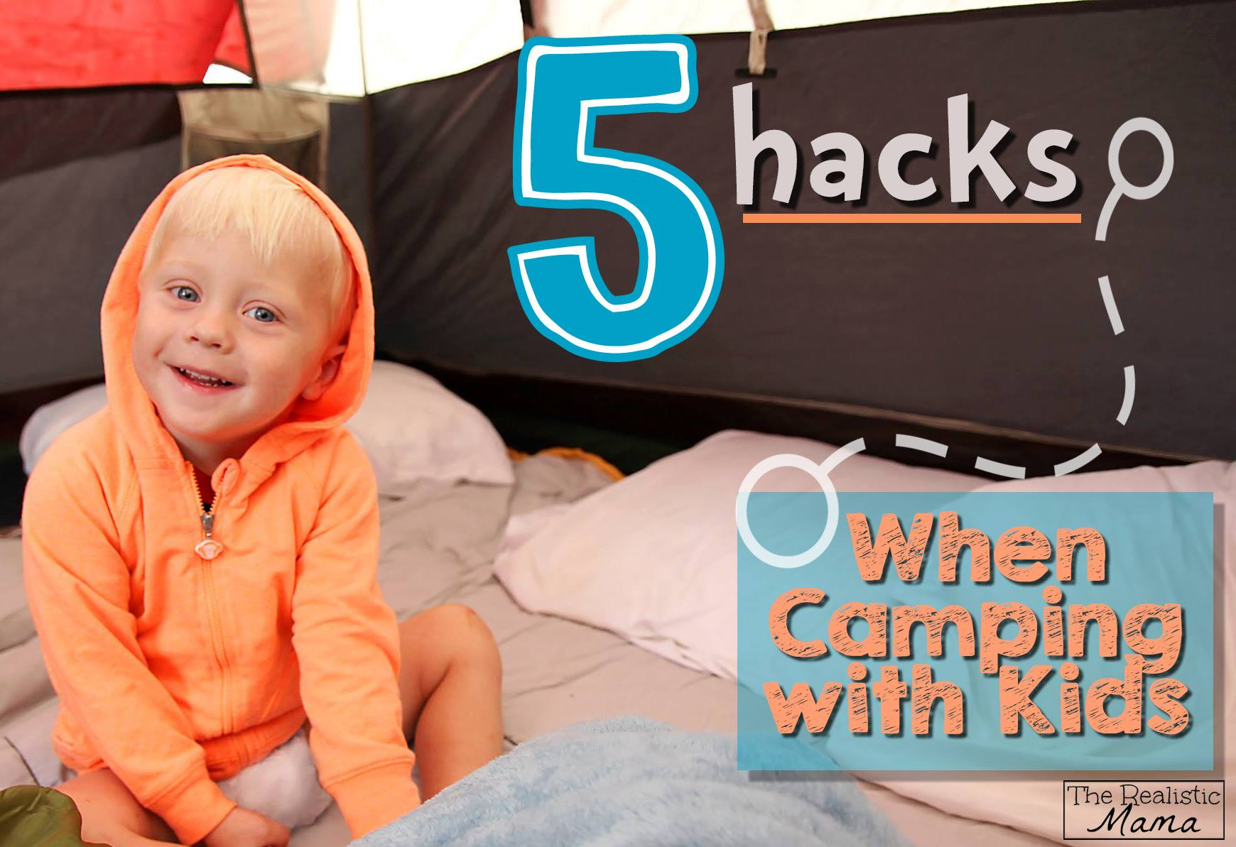 5 Tips When Camping with Kids