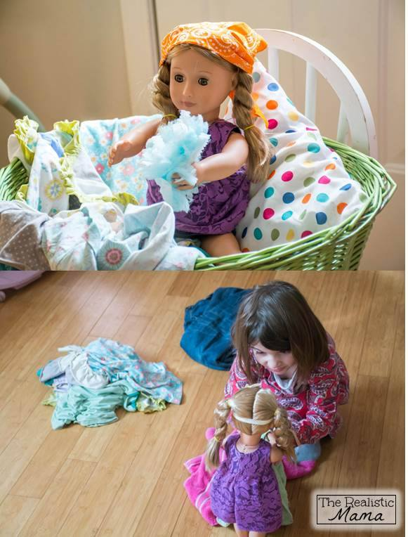 Chores with Your Doll