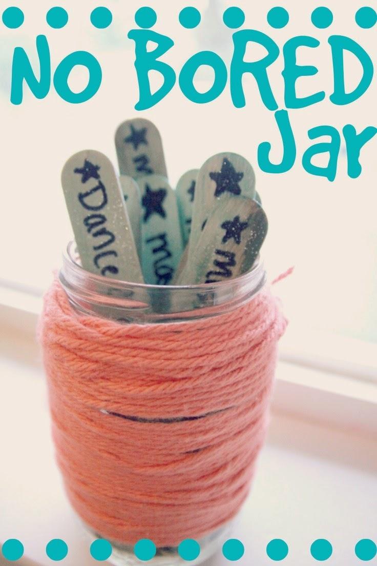 No More Bored Jar The Realistic Mama