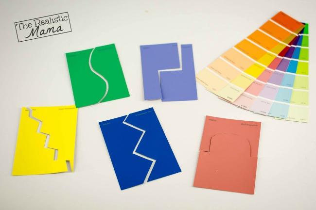 Paint Sample Puzzles