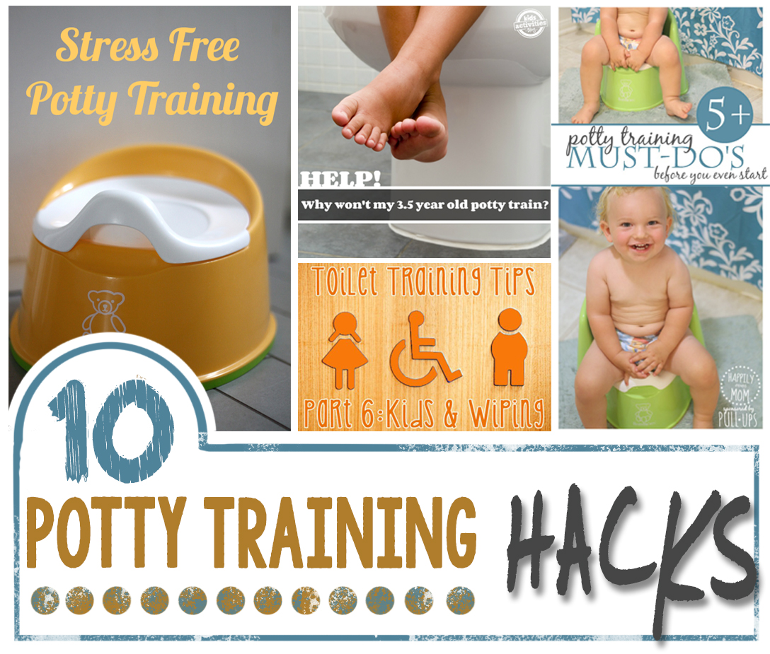 10 Potty Training Hacks