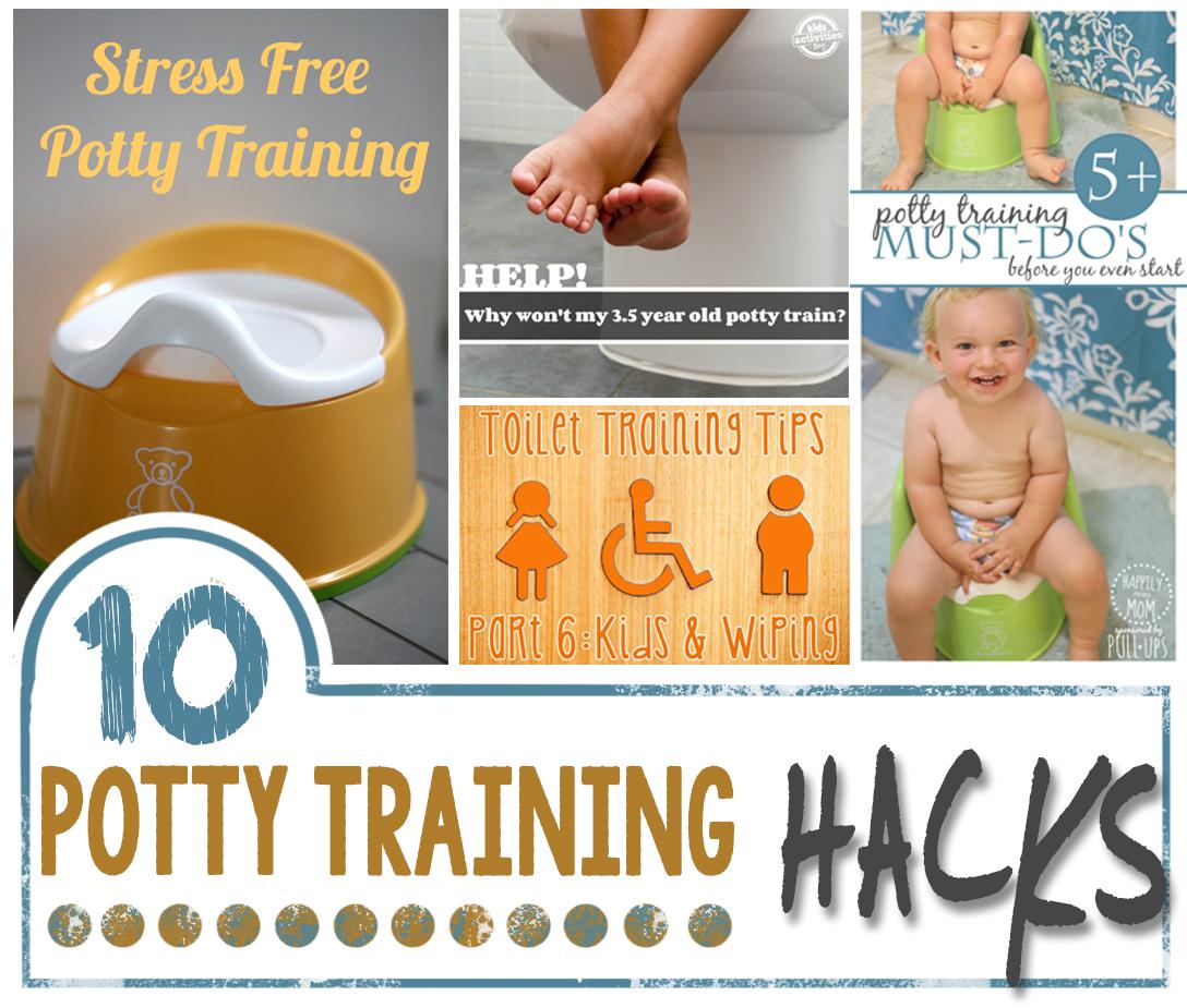 10 Potty Training Hacks