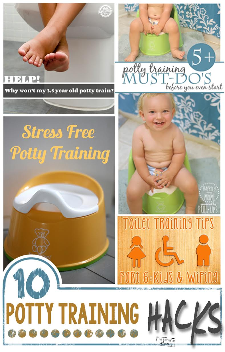 10 Awesome Potty Training Hacks - Tips that actually work!
