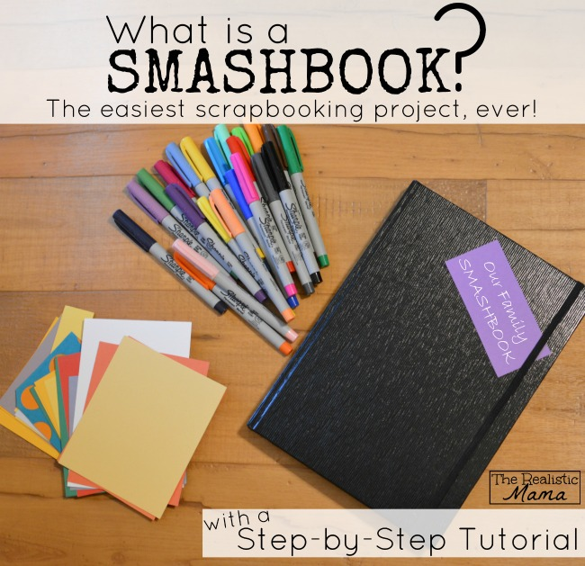 Smash Book Step-by-Step Tutorial