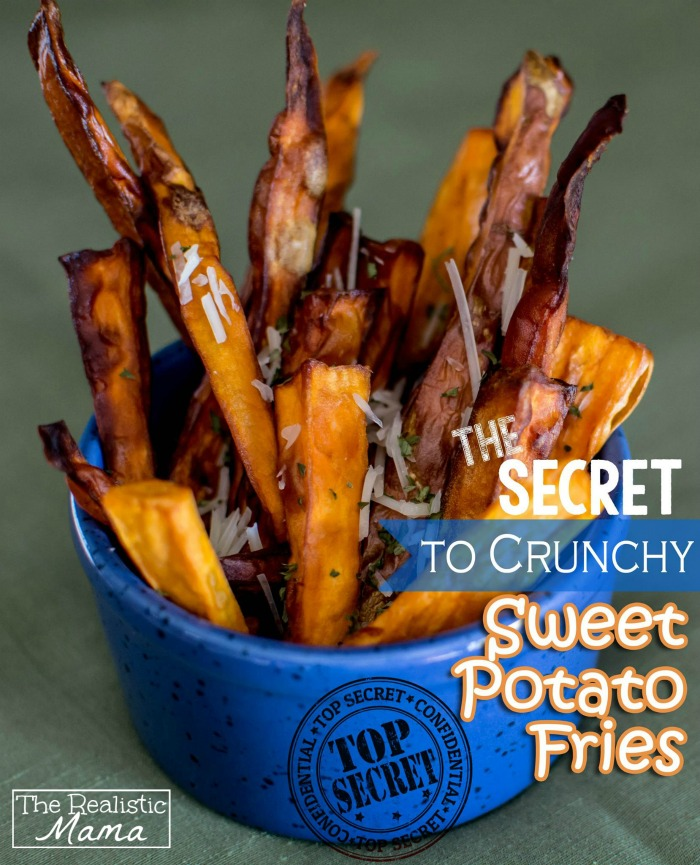 The Secret to Crunchy Sweet Potato Fries