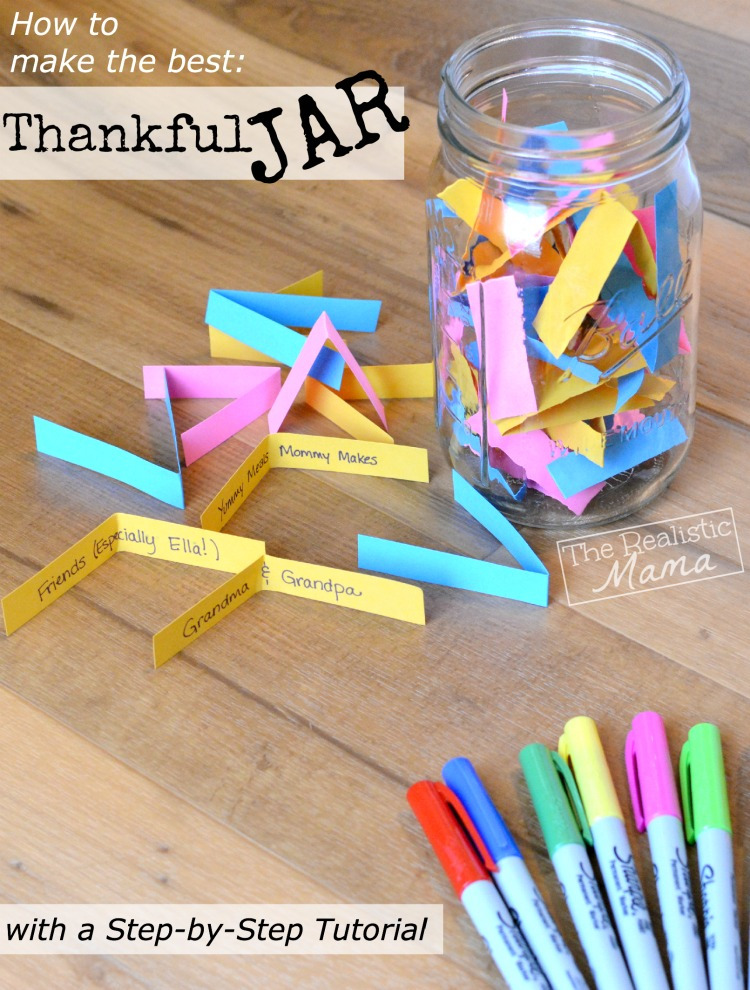 How to Make the BEST Thankful Jar with a Step-by-Step Tutorial