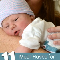 11 Must Haves for New Moms