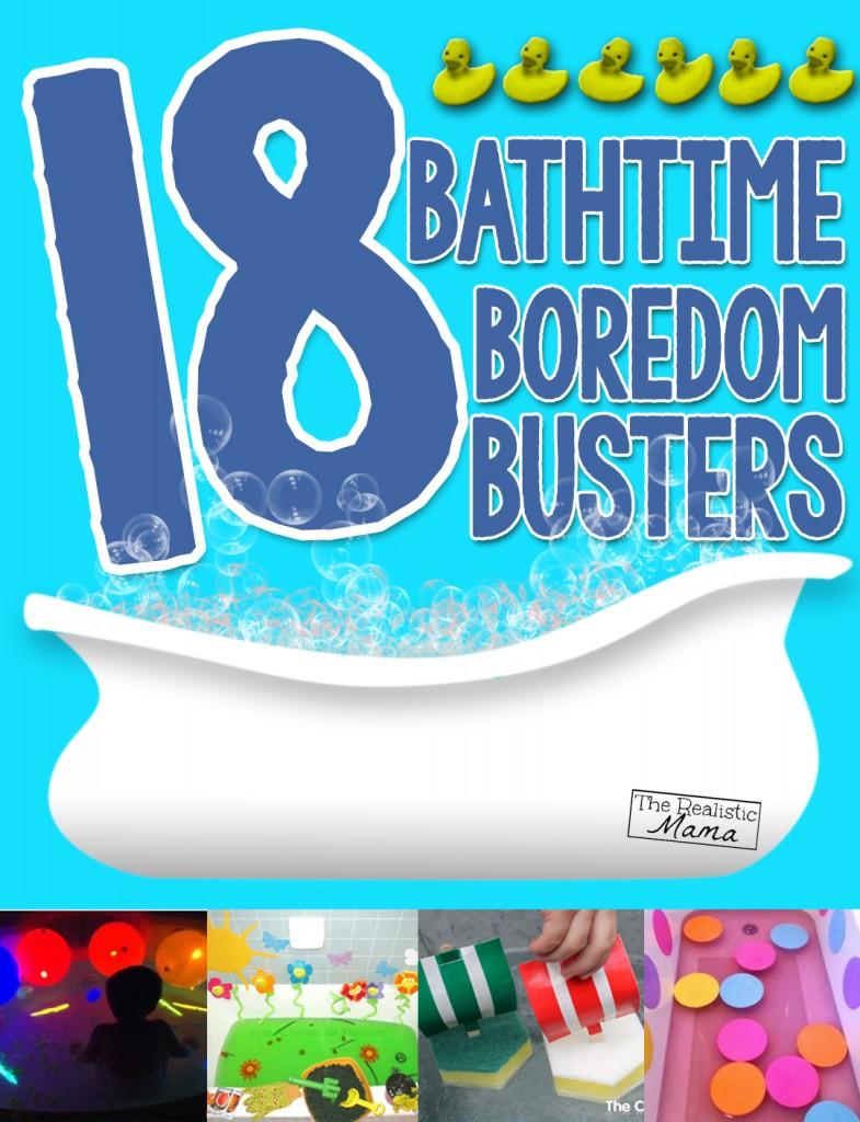 18 Bathtime Boredom Busters