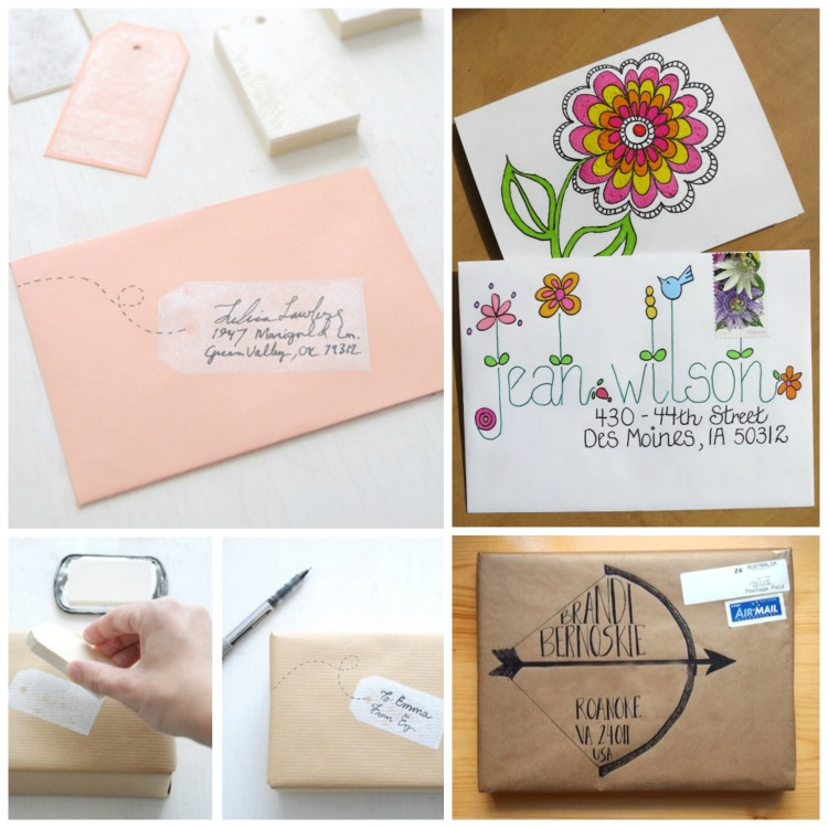 Addressing an Envelope the Fun Way!