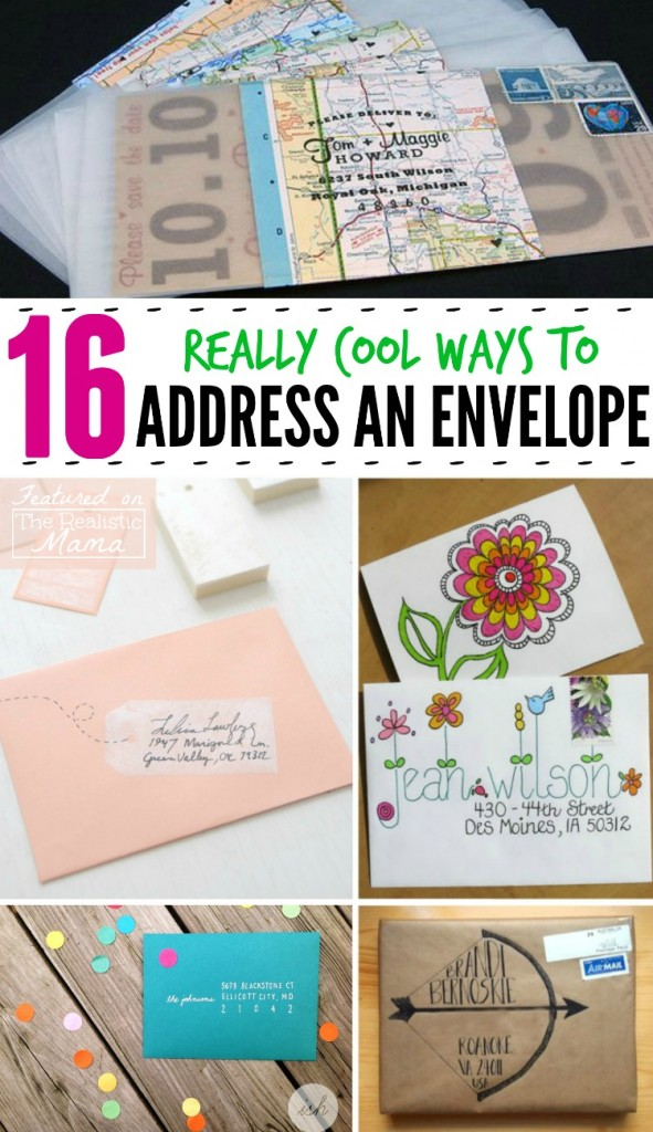 Mail Art - 16 Really Cool Ways to Address an Envelope