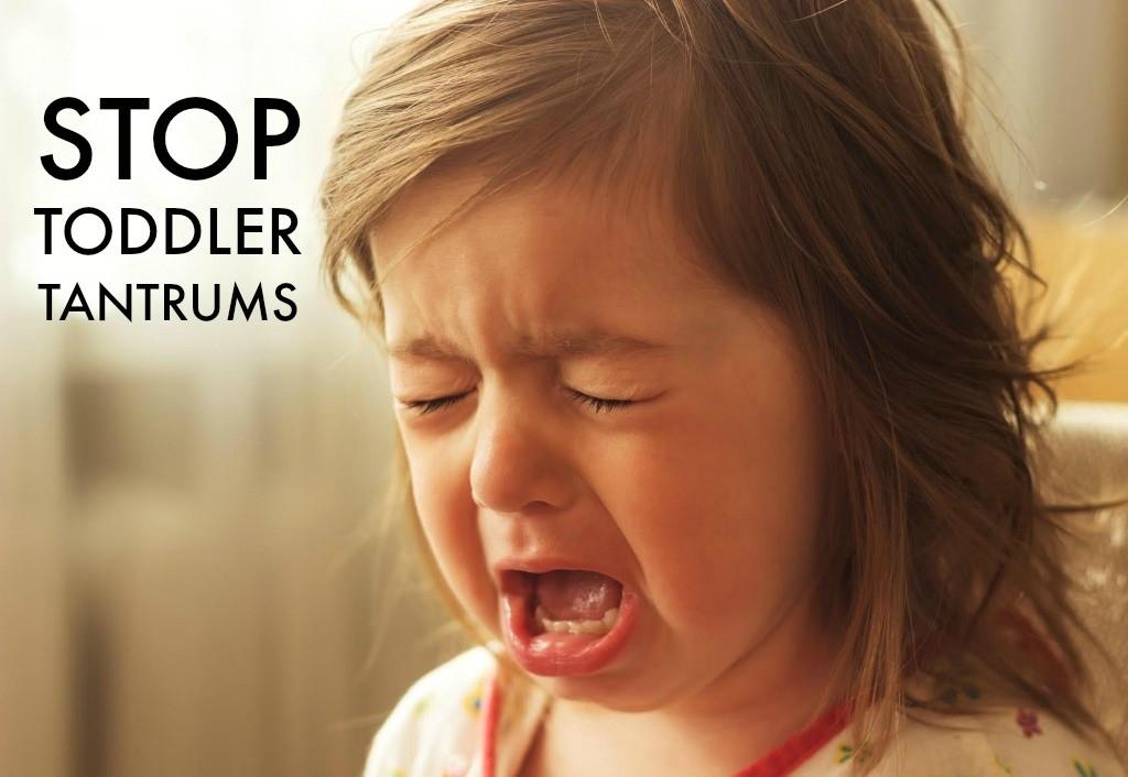 stop toddler tantrums
