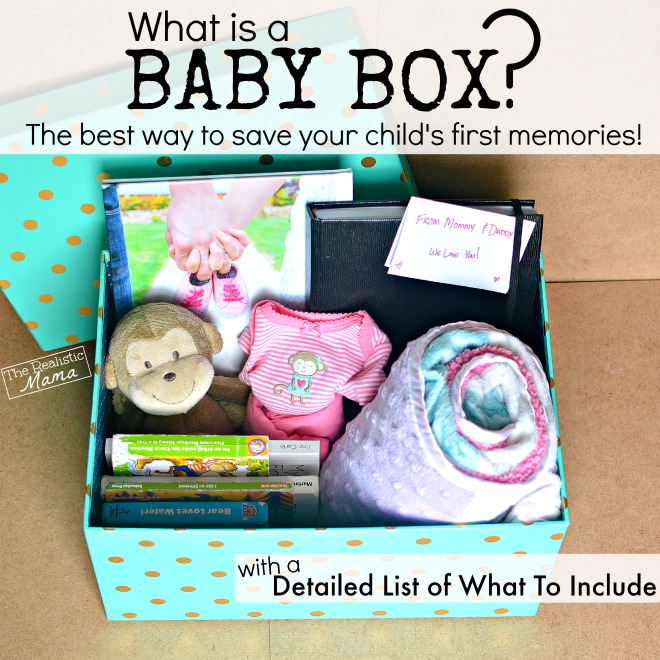 DIY Baby Memory Box