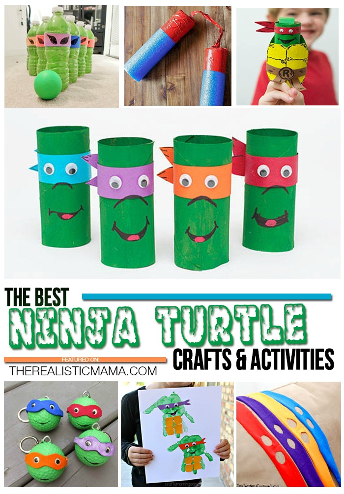The Best Ninja Turtle Crafts and Activities