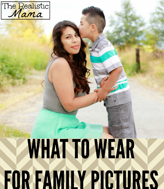 Tips on what to wear for family photos